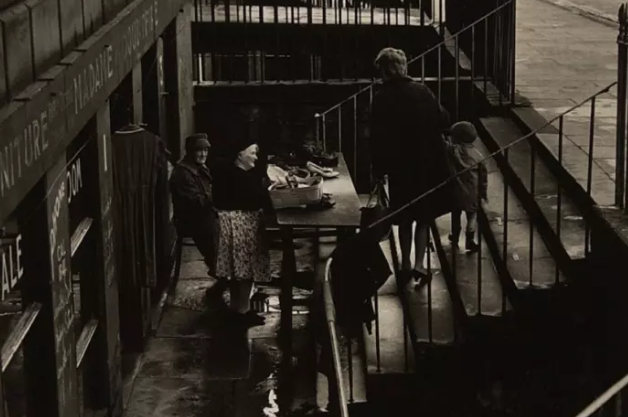Madame Doubtfire's shop, 1960's, Picture Credit - The Scotsman