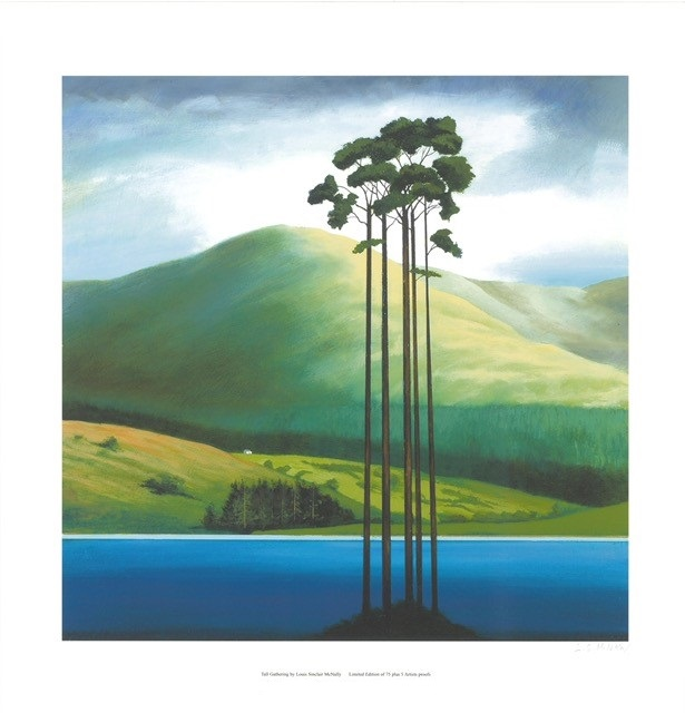 Tall Gathering (S)By Louis Sinclair McNally 50.5cm (w) x 50.5 (h) 61.5cm (w) x 63.5 (h).jpg