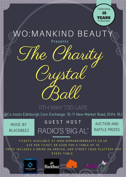 Womankind Edinburgh Charity Crystal Ball