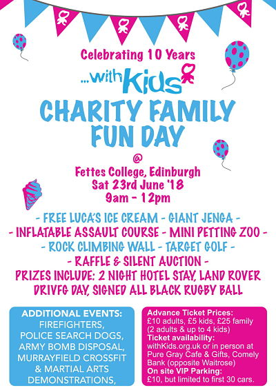 WithKids Charity Family Fun Day