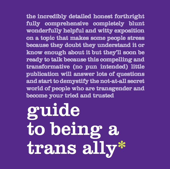 Guide to Being a Trans Ally