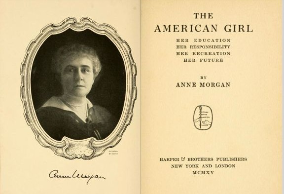 Anne Morgan and The American Girl