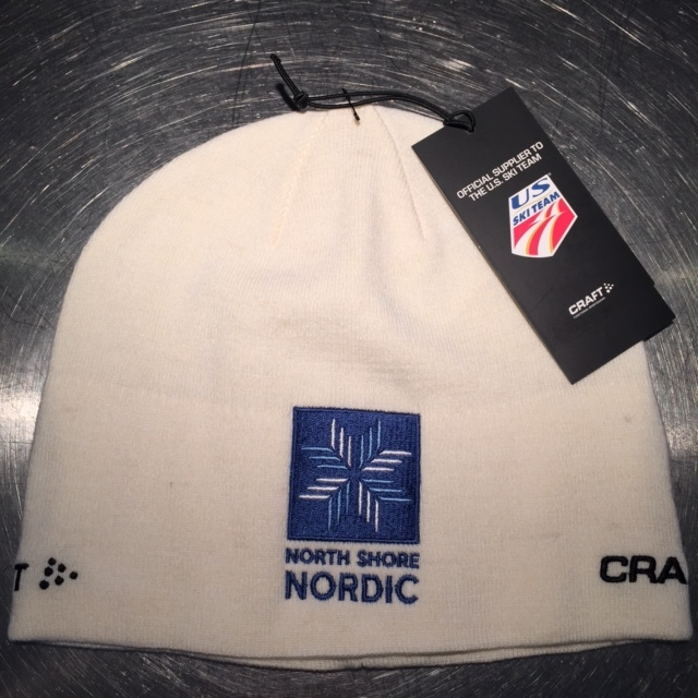 The 2015 NSNA/Craft hat in white.