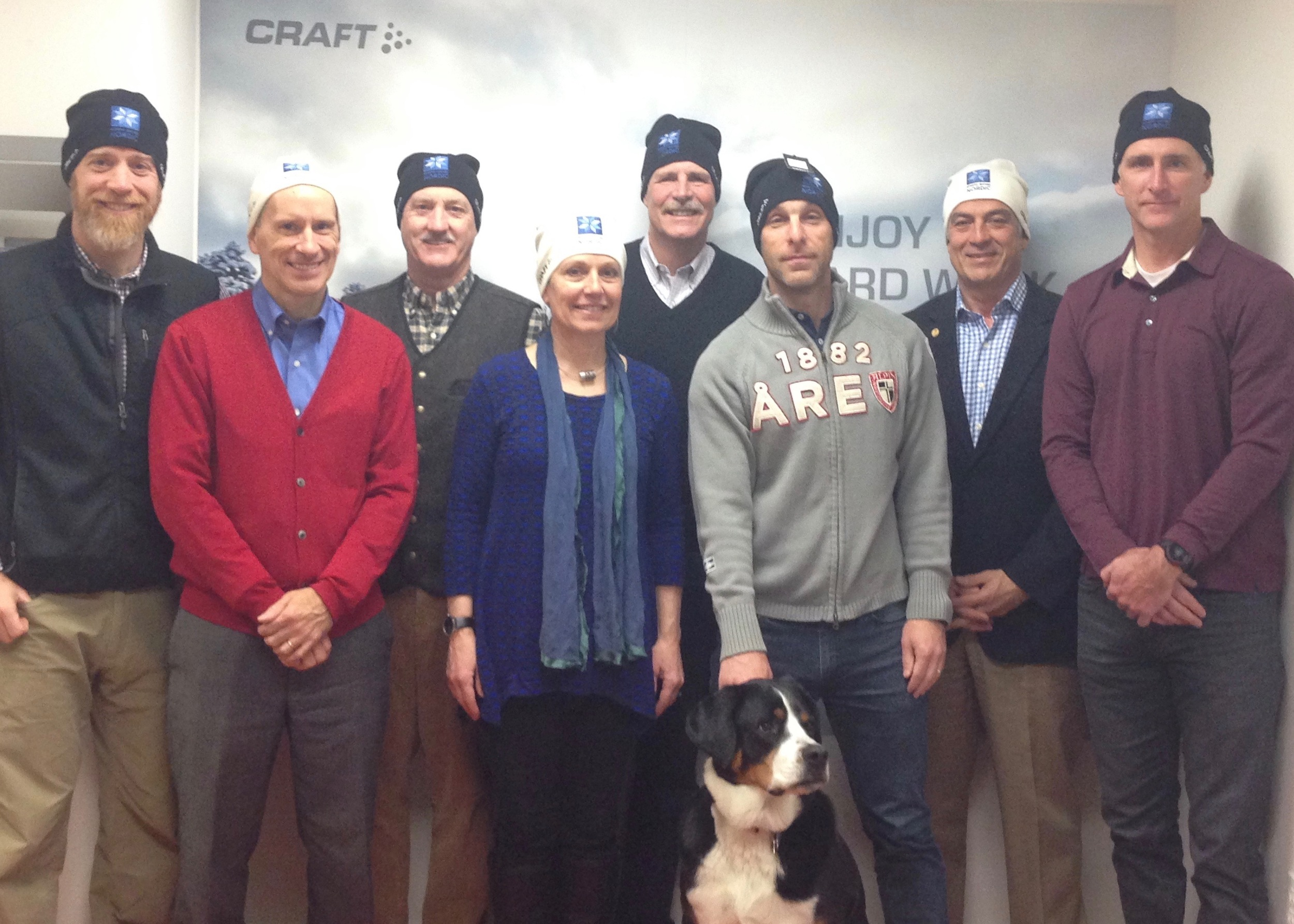 Check out our Board of Directors (plus a couple special guests) in their 2015 NSNA/Craft hats!