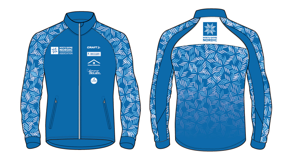 Our custom Craft jacket, designed by Catalano Design