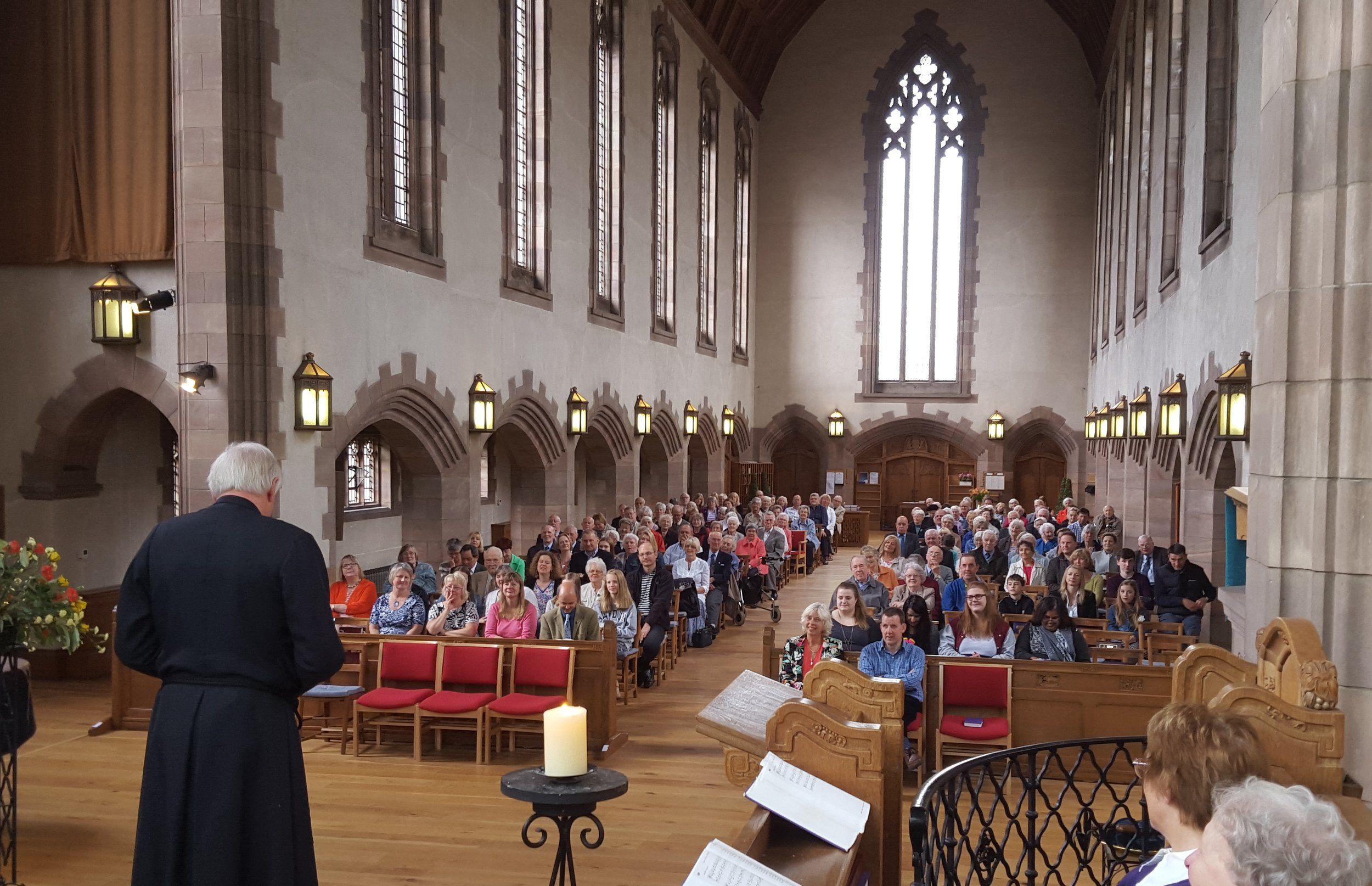 View from the Choir