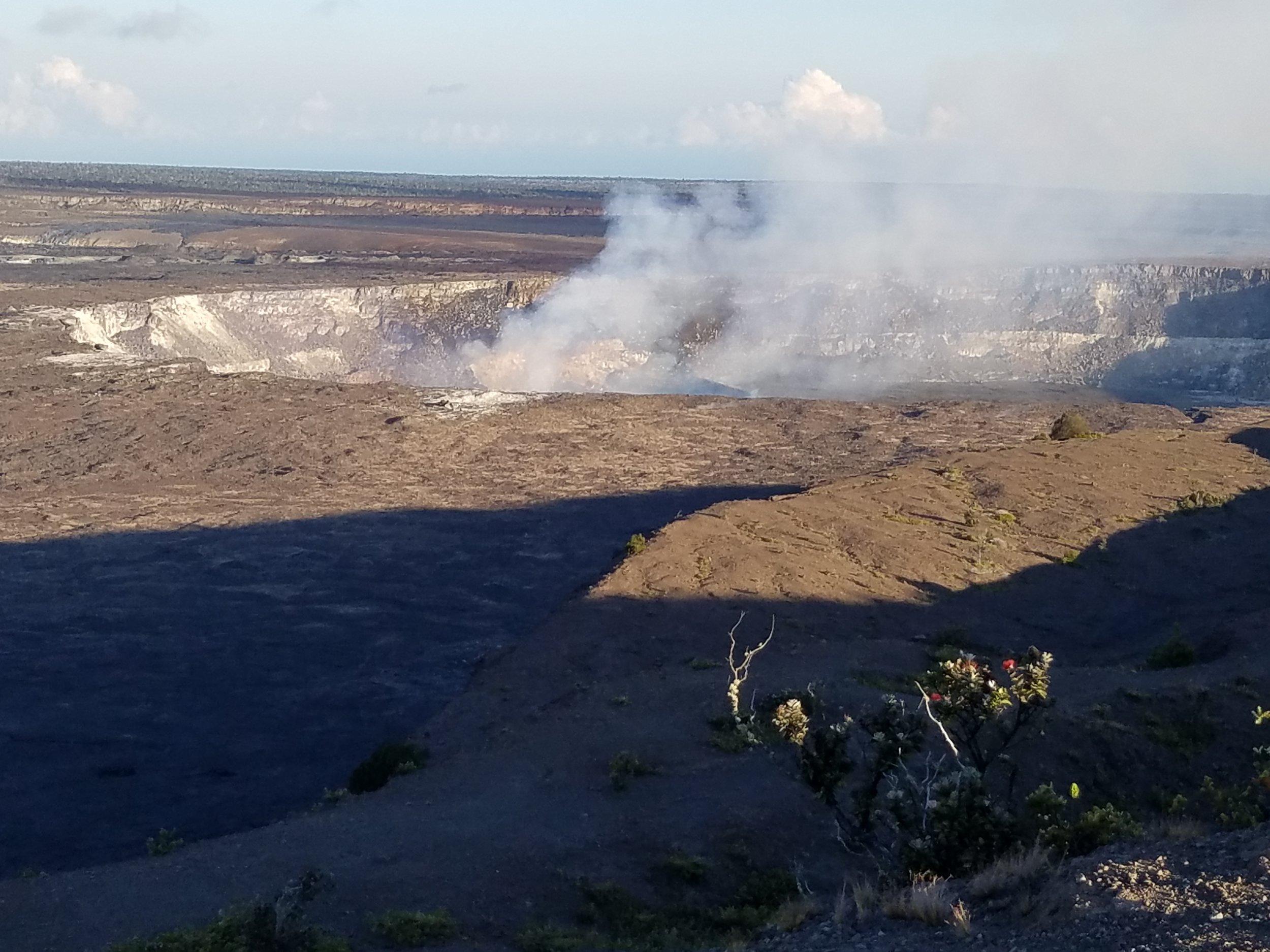 Kilauea Crater -