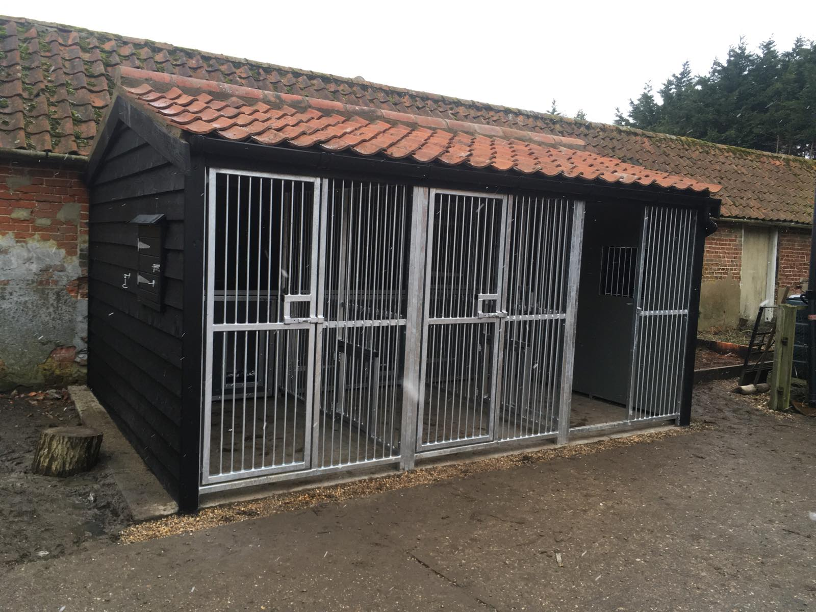 Dog kennels built for comfort, safety and security