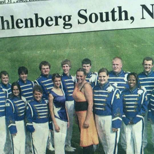 Discovered this gem on a classmate's feed today 😆  Did you know I was a drum major back in the day? 🎶 . . . #marchingband #drummajor #fieldcommander #backintheday #fluteteacher #flutestudio #musiceducation #kmea #thecounty #northstars