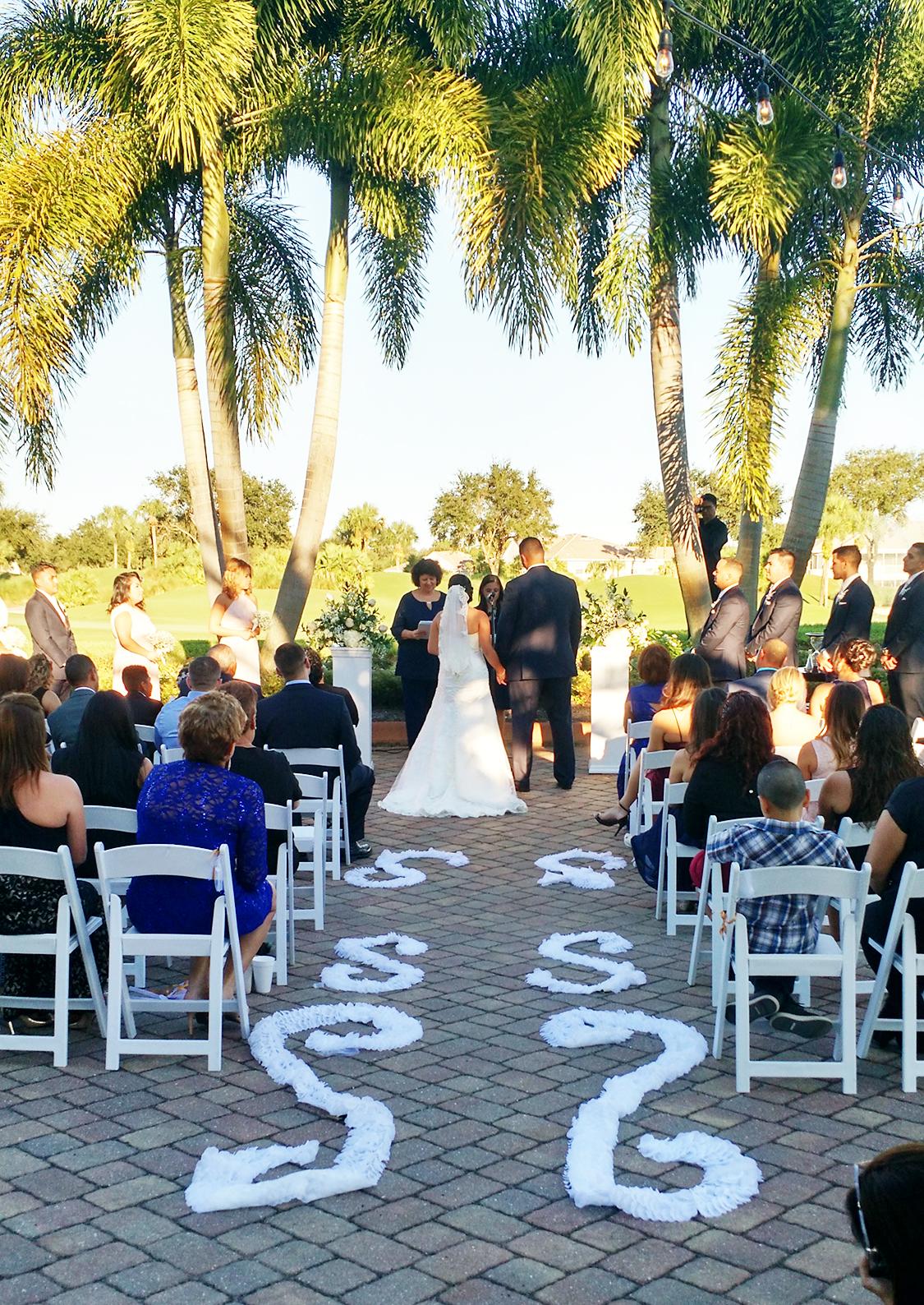 Lourdes & Cynthia officiate a  Spanish  - English Wedding