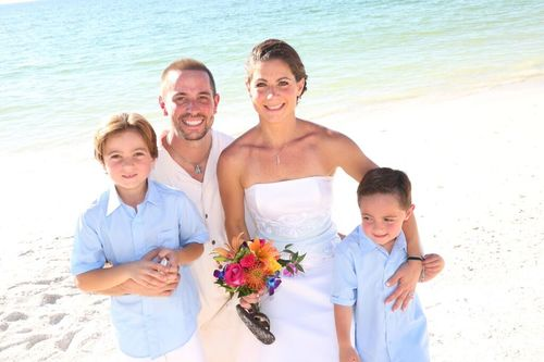 Vow Renewals is often a family affair.