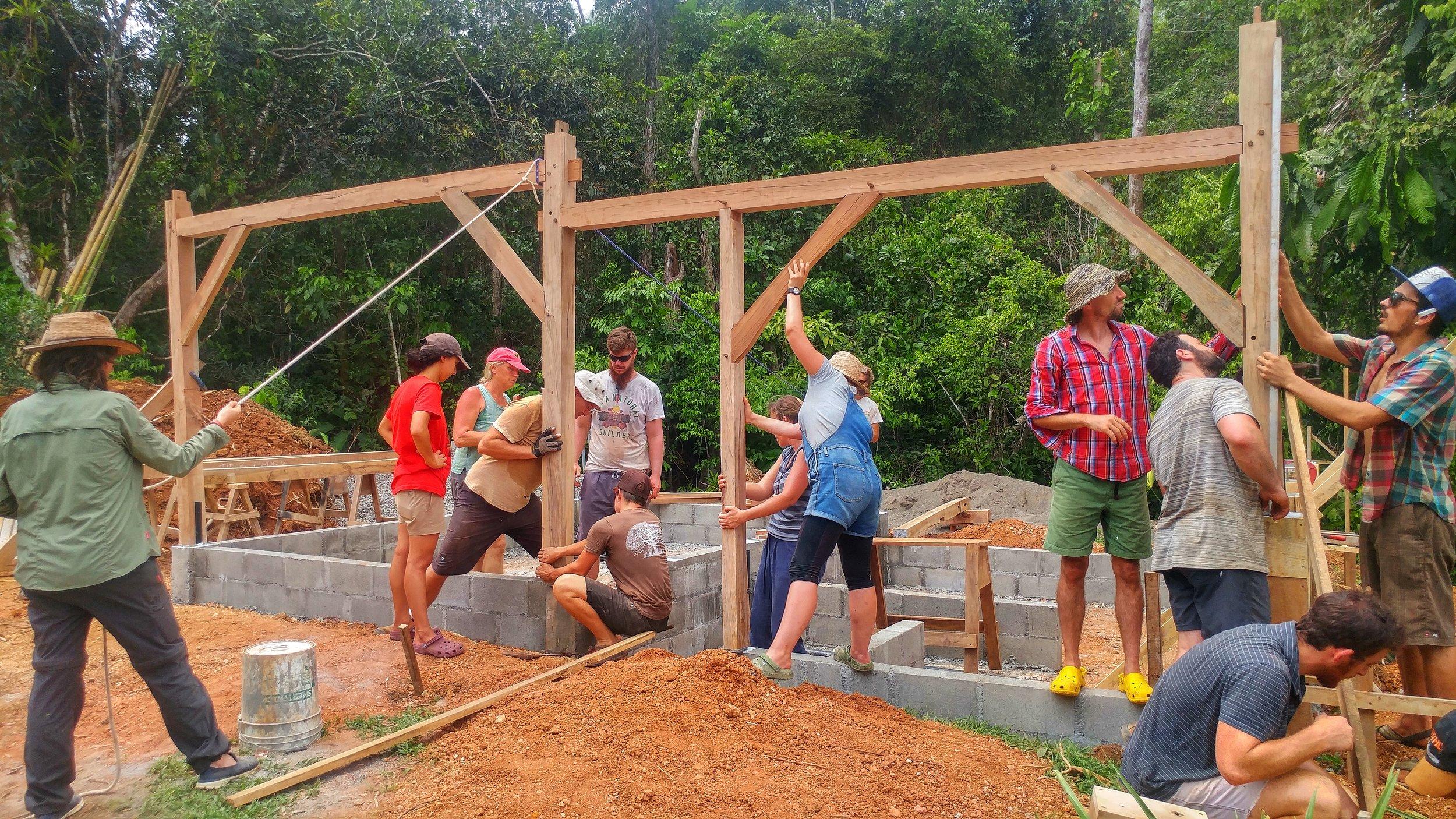 Timber framing Costa Rica