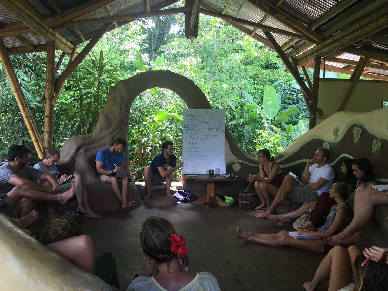 PDC lesson in our Ceiba Lounge