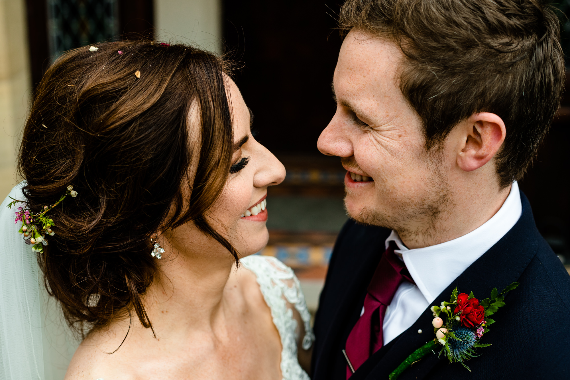 Nicola and Daves beautiful wedding at Tyn Dwr Hall in Wales