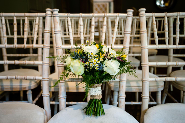 Whirlowbrook Hall weddingphotographer, beautiful bouquet.