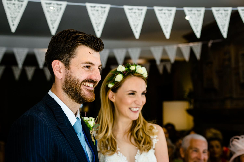 Wedding ceremony wedding photos Whirlowbrook Hall Sheffield