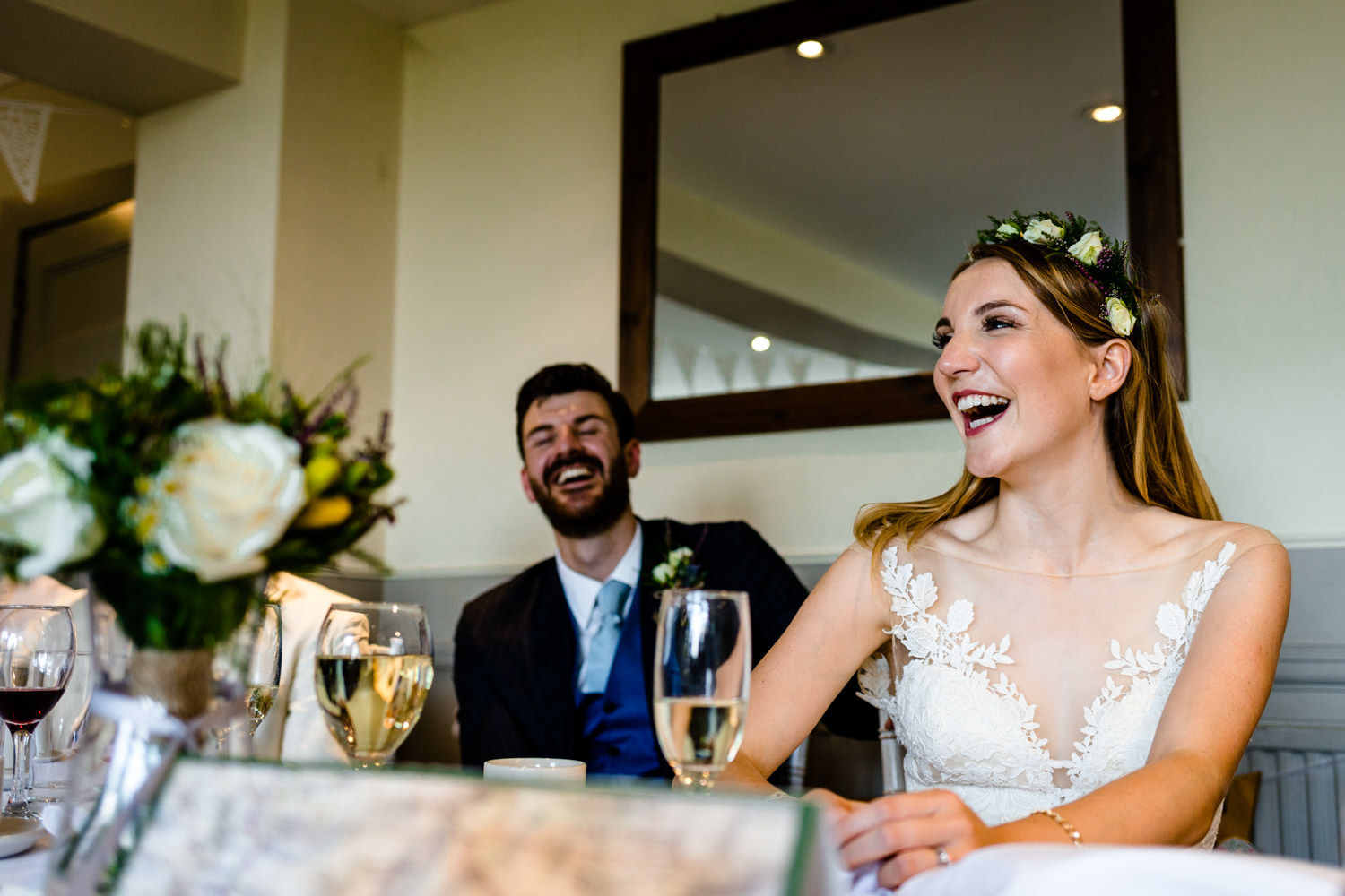 Funny speeches wedding photograph	Whirlowbrook Hall Sheffield