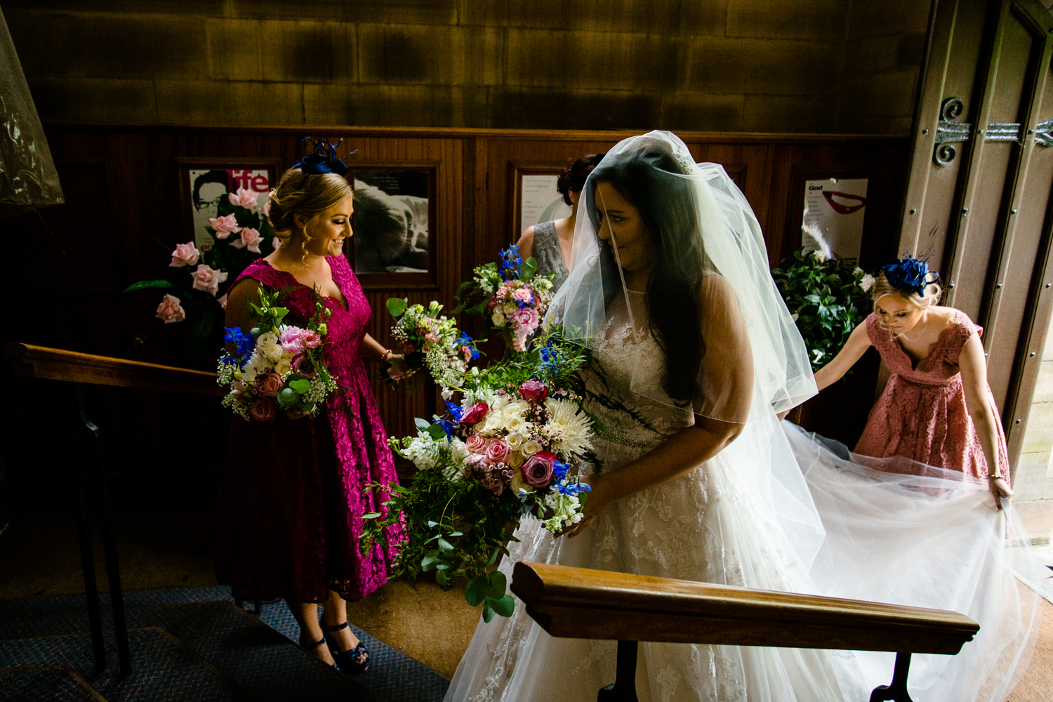 Colourful Rochdale wedding photos