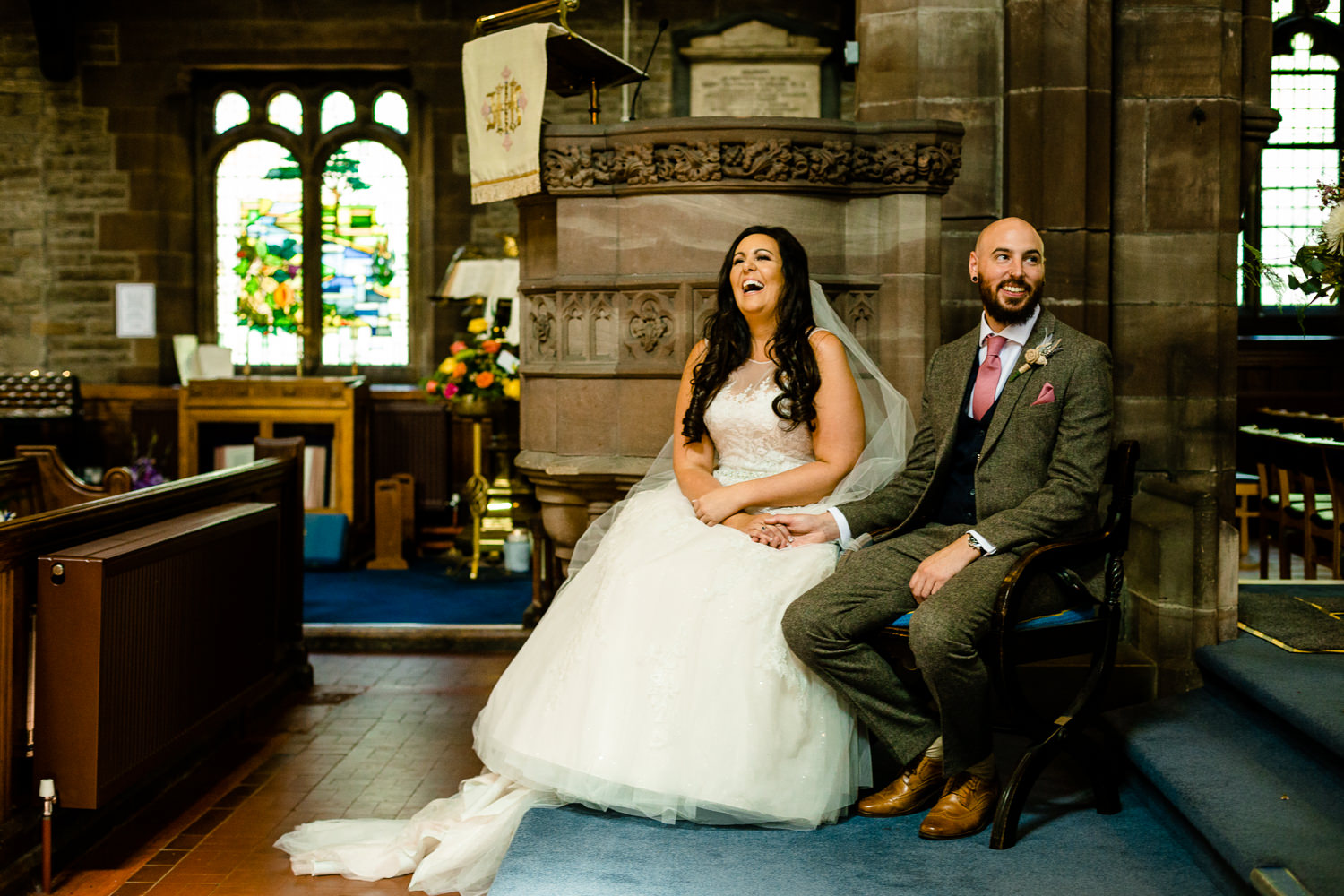 Relaxed Rochdale wedding photographer