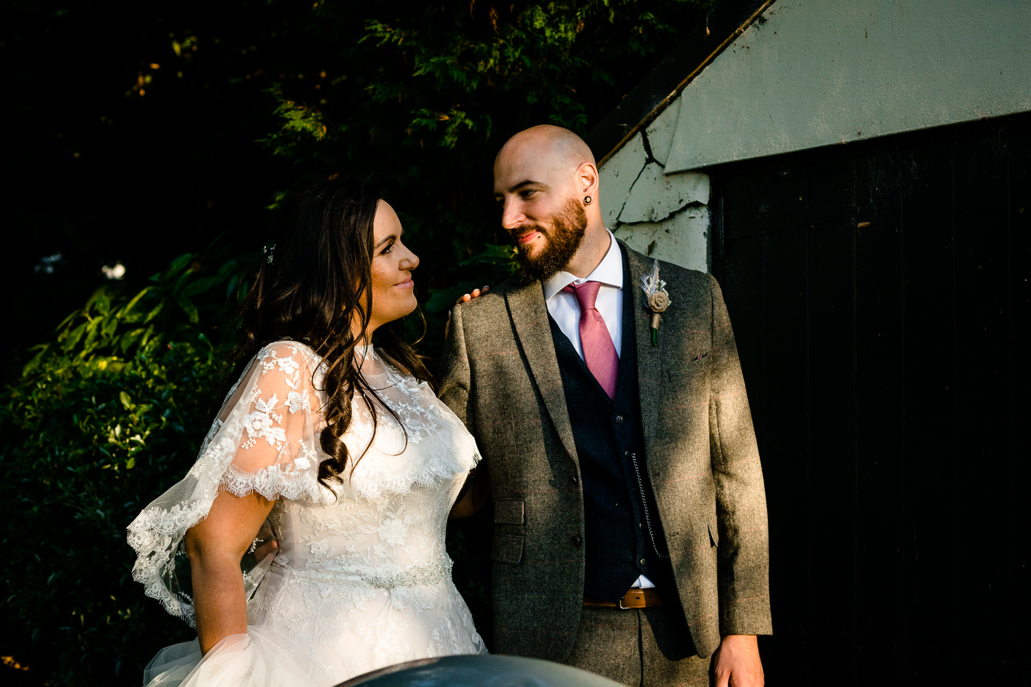 Colourful Rochdale wedding photographers