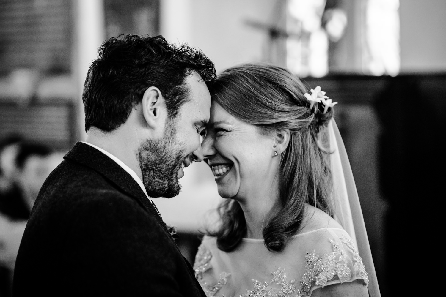 Just married, wedding photographer Anglesey