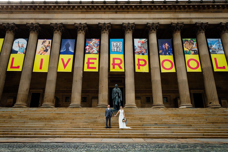 St Georges Hall Wedding Photographer Liverpool