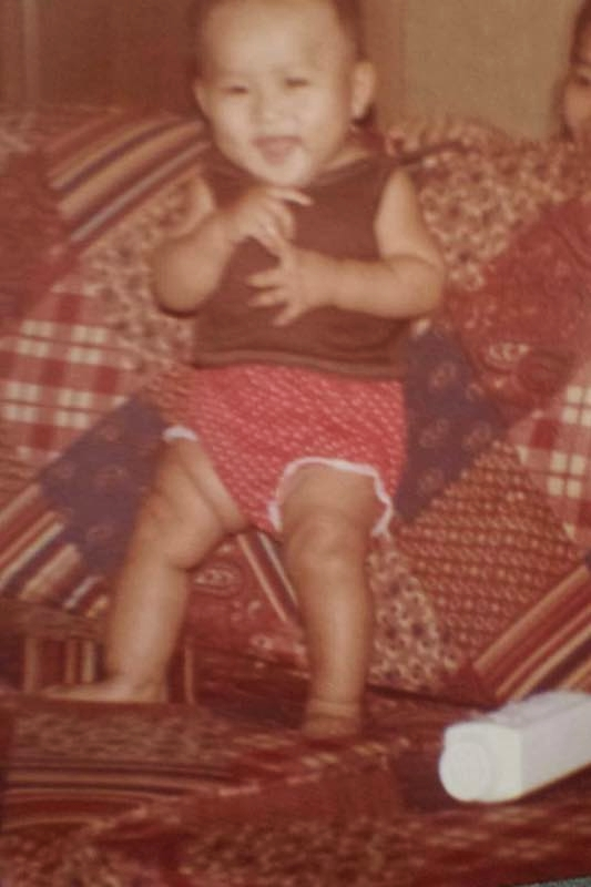 Me at 9 months old.