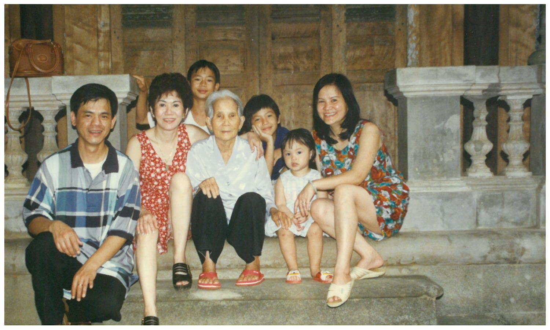 My first trip to Vietnam, 1996.
