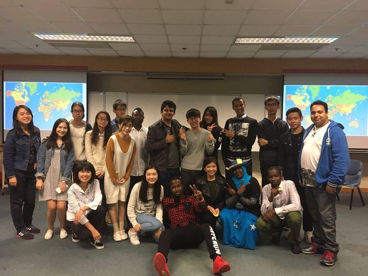 First cultural workshop with HK refugees (December 2016).