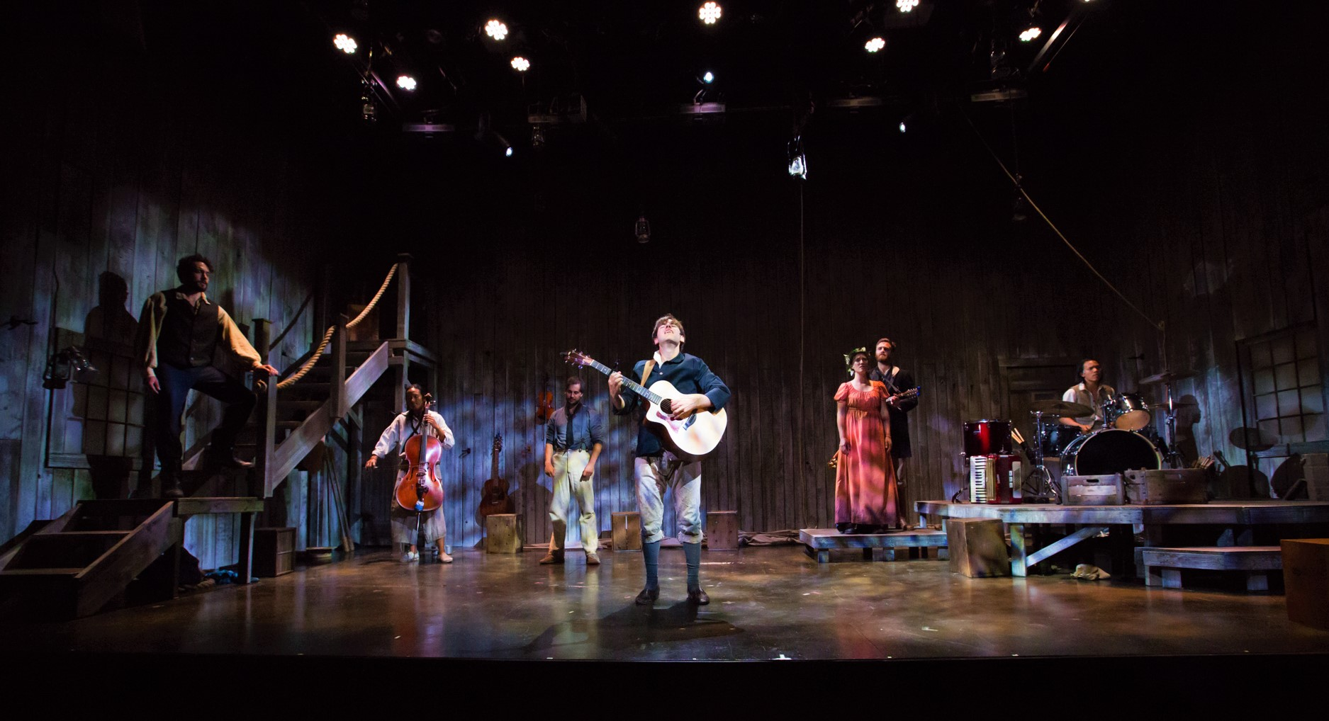SeaWife Production at White Heron Theater, 2017. Photo by Cary Hazlegrove.