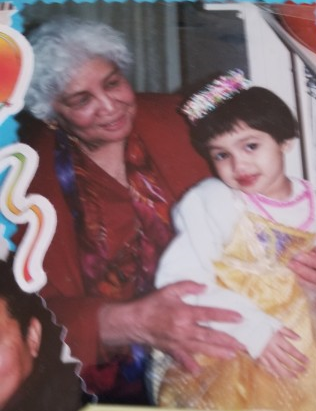Rozlind and Great-Grandmother, East LA, early 2000s