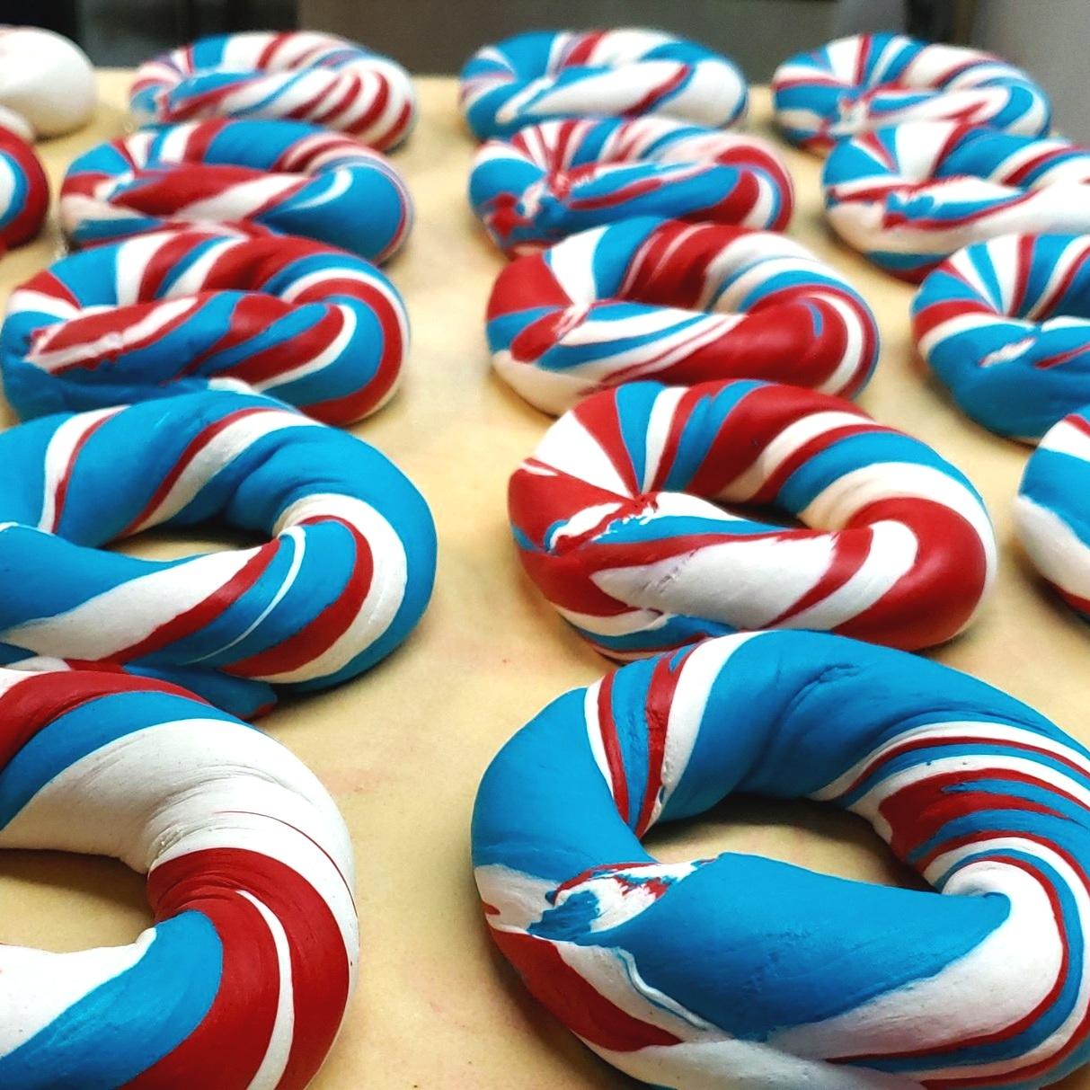 Captain America Bagel Art $4.15