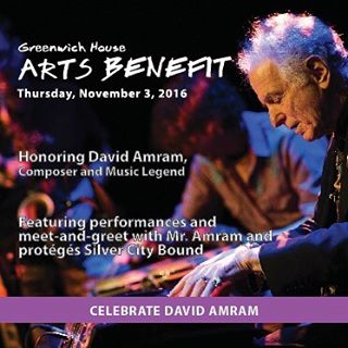 We're performing next week at a special concert honoring @maestrodavidamram . Proceeds go to support arts programs at @greenwich_house  Visit their website for tickets: www.greenwichhouse.org/artsbenefit  #supportthearts #folk #rock #jazz #classical #livemusic #nyc #brooklyn #kerouac