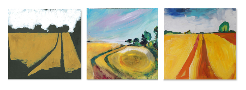 Day 4: Plein Air paintings