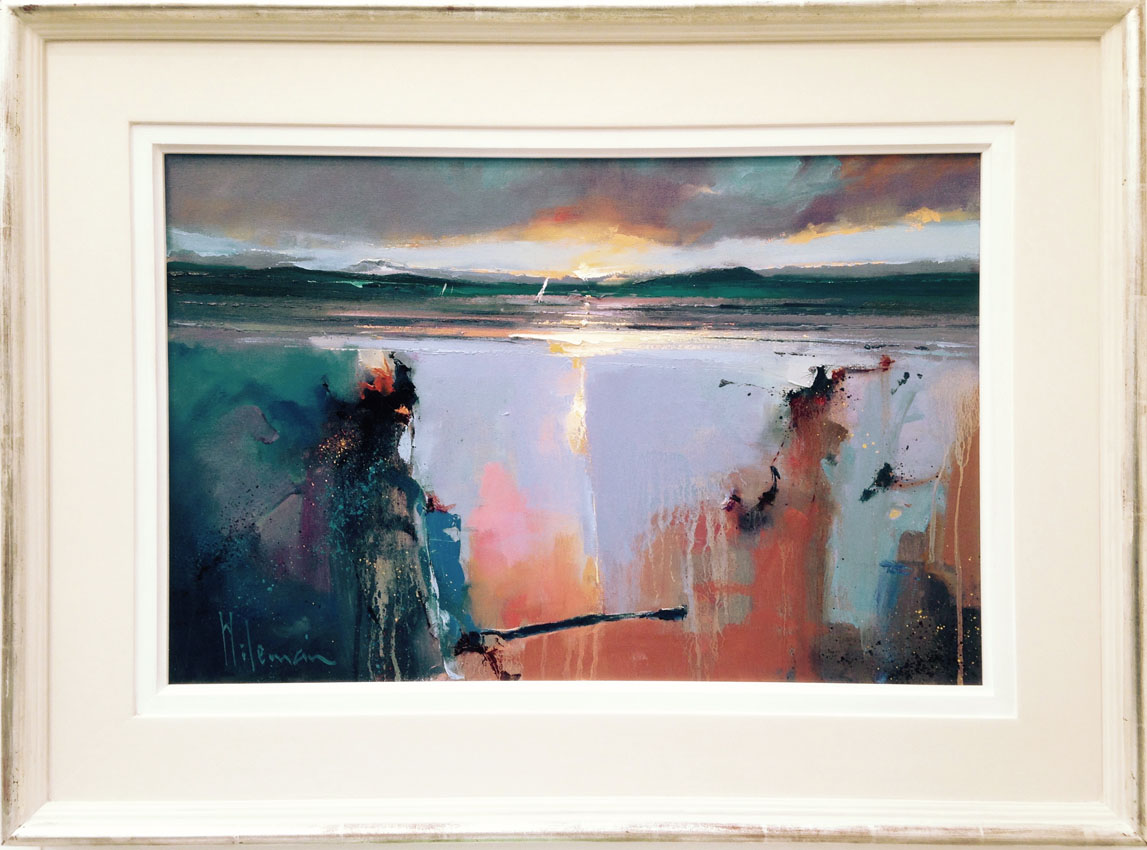 Peter Wileman, 'Sailing By, Balnakeil Bay' Lime Tree Gallery