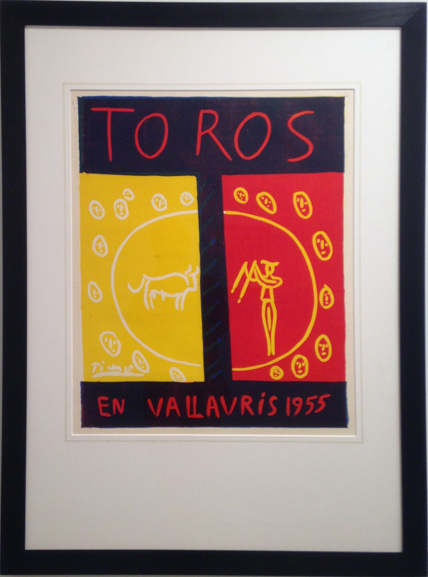 Picasso – LINO / CUT 11 Sept – 3 Oct '15 Paul Stolper