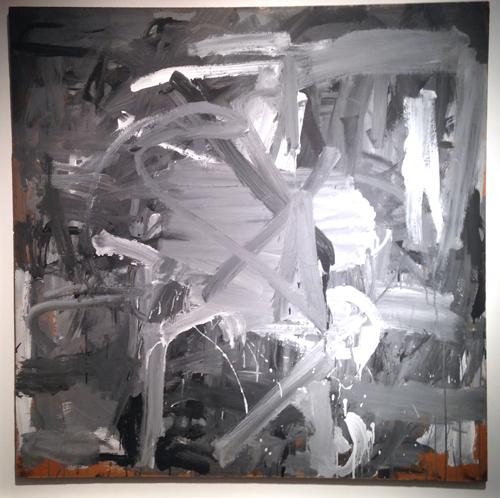 Bernard Cohen – Grey Place (1958) Rountree Clark