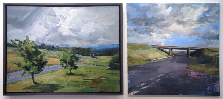 Tai-Shan Schierenberg – Two Trees / Dawn's Highway (2014) Flowers Gallery