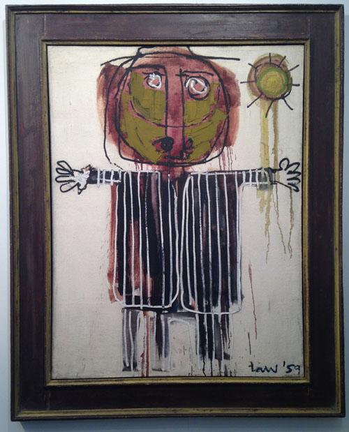 Bob Law – Scarecrow (1959) Austin/Desmond Fine Art