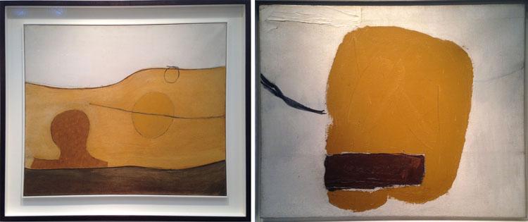 Roger Hilton – Untitled 64 (1964) / Oct 62 (1962) Osborne Samuel