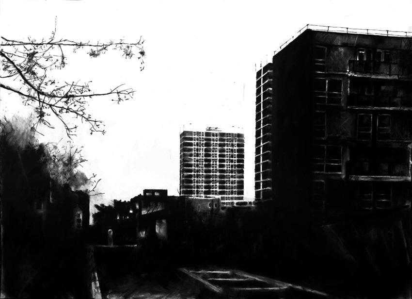 Estate, Looking East