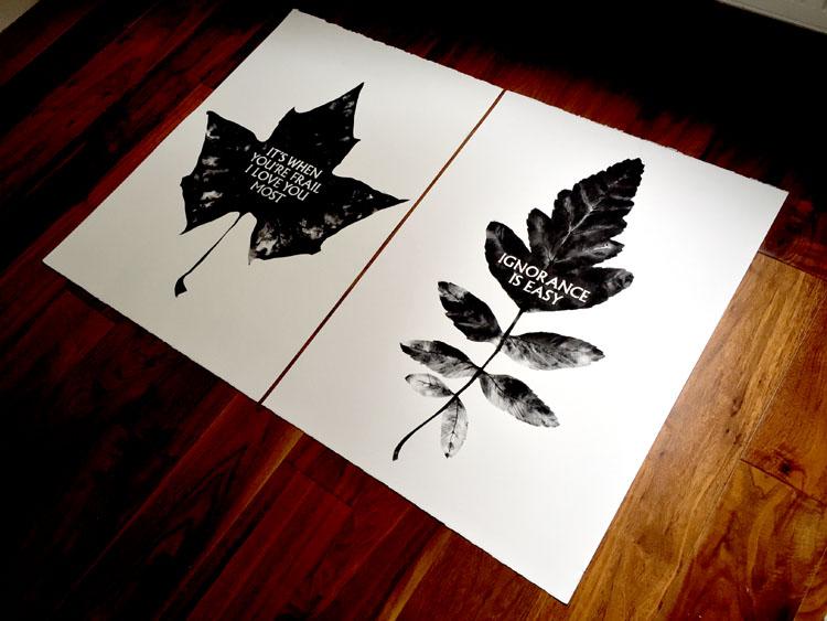 50 x 70cm Charcoals