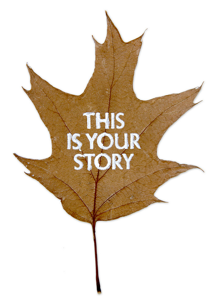 'This Is Your Story' Silent Voices leaf