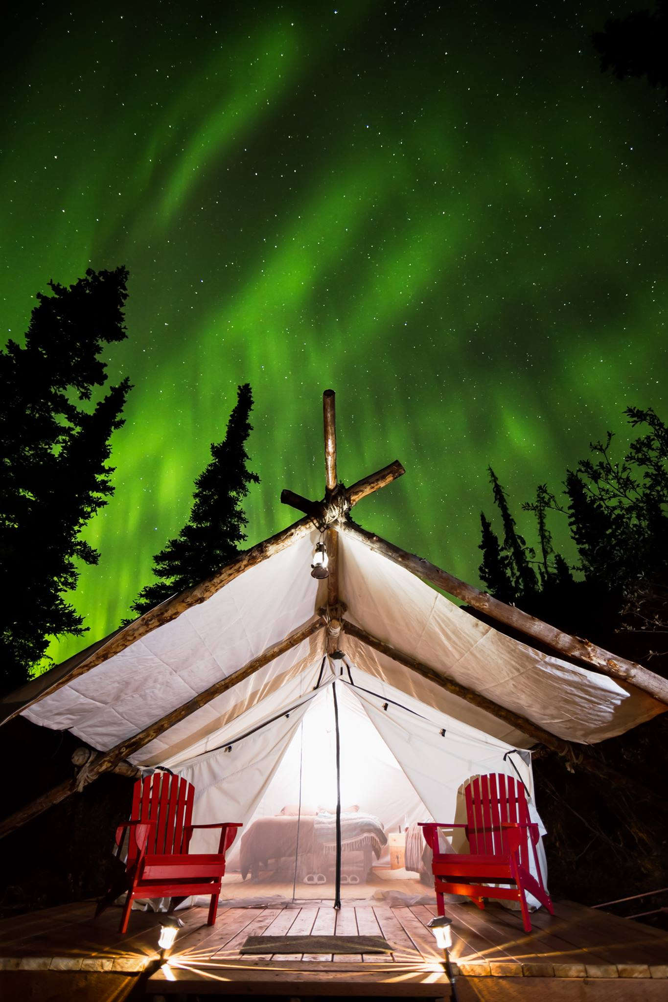 "Picked by Outside as one of the ""10 Amazing Glamping Spots in North America"". - -Outside Online"