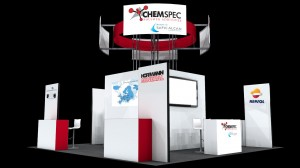 ChemSpec Rubber Show Booth Sketch