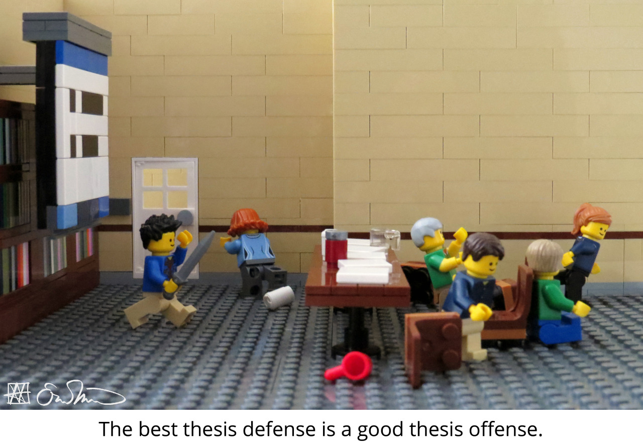 The  Lego Grad Student's  reinterpretation of XKCD's original comic. If you aren't following this sharp, witty Tumblr, you need to start immediately!