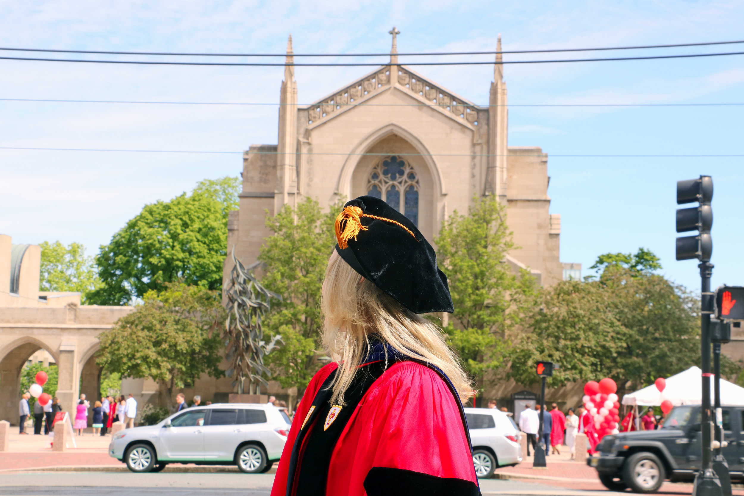 Reflecting back on my time at Boston University.