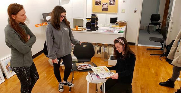 """Students in INCAP courses complete their projects collaboratively: """"the project is large and complex enough that it requires input and work from more than one person to be successful."""""""