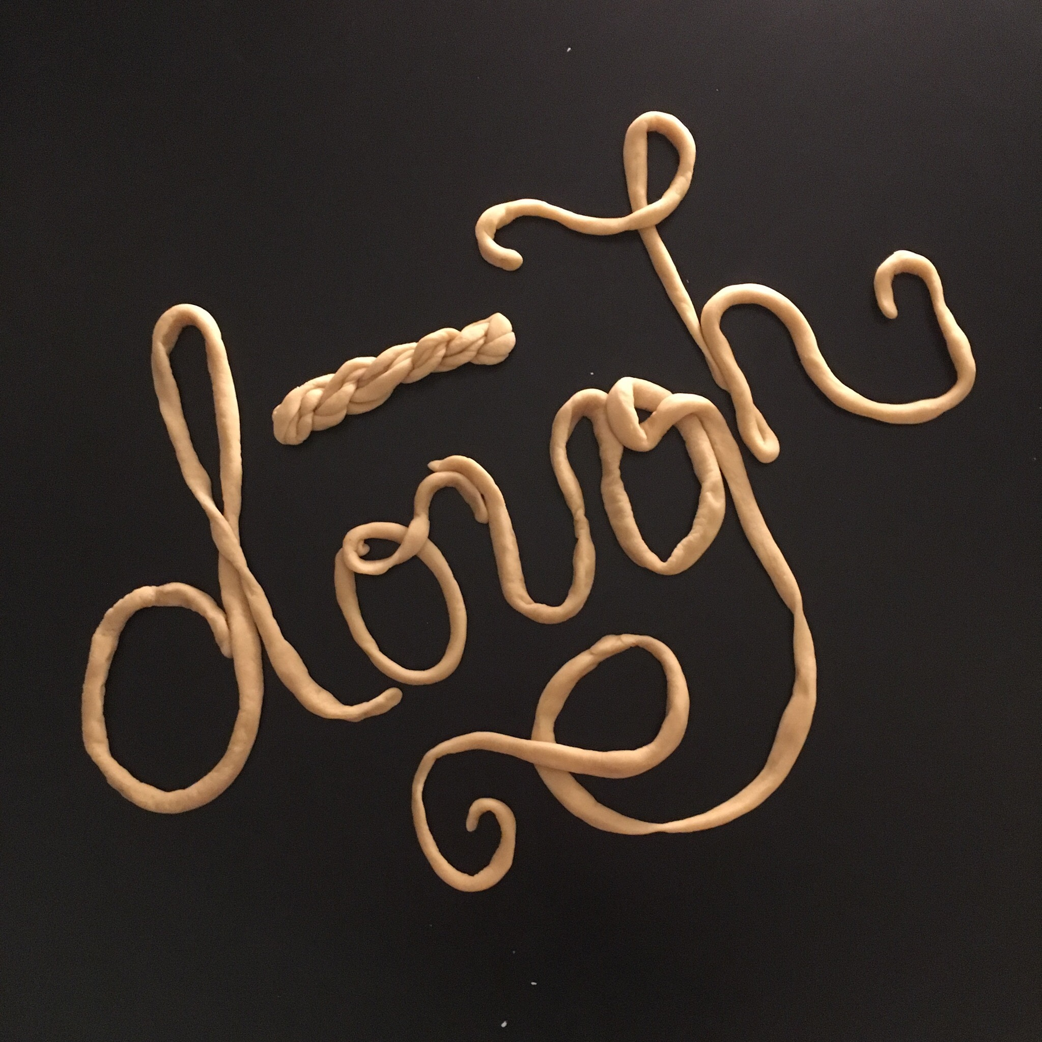 They told me not to play with food, but it was so much fun dough.
