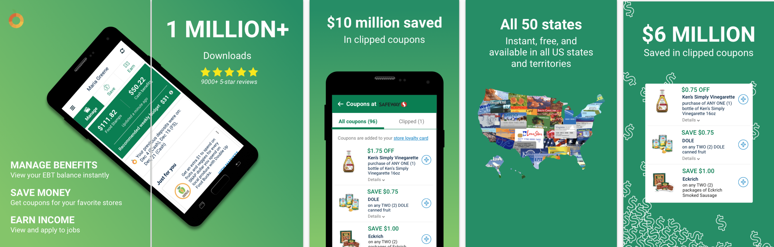 Google Play Store App Designs